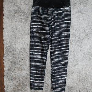 Justice Girls black and white pants